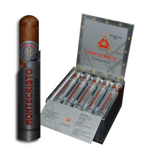 Montecristo Platinum Series Rothchilde Tube
