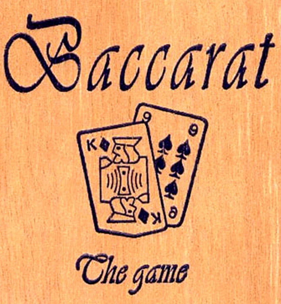 Baccarat the Game Cigars
