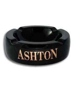 Black Ashton Ashtray
