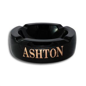 Black Ashton Ashtray