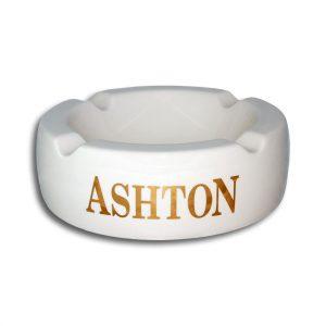White Ashton Ashtray