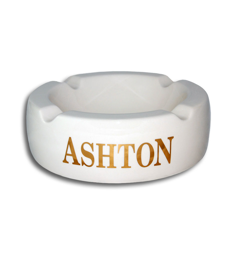 White Ashton Ashtray
